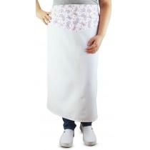 Avental Estampado Profissional Borboletas - Branco