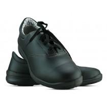 Sapato Com Cadarço - Preto