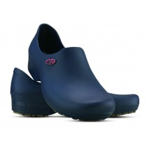 Sapato Antiderrapante Sticky Shoe Florence - Esteto Love - Azul/Rosa
