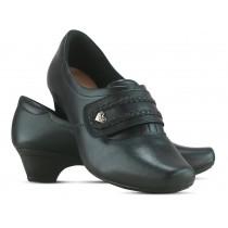 Sapato Neftali 40011 - Preto - Pin Coração