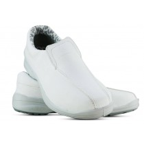 Sapato Microfibra Com Elástico - Branco