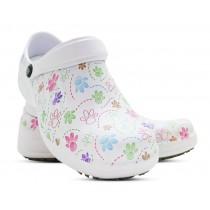 Babuche Profissional Soft Works Estampado Com Palmilha - Pet - Branco
