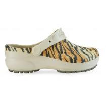 Babuche Profissional Soft Works Estampado Tigre - Bege