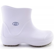 Bota Impermeável Antiderrapante Light Boot - Branco - Super Leve!