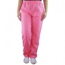 Calça Profissional Oxford Com Bolso Traseiro - Rosa Pink