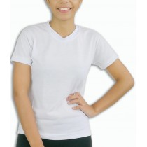 Camiseta Baby Look Feminina - Branca