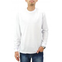Camiseta Manga Longa Unissex - Branca