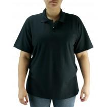 Camiseta Polo Unissex - Preto