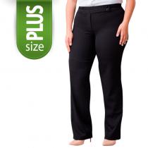 Calça Social feminina 4 Botões até tamanho 58 Plus SIze - Preto