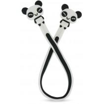 Enfeite para Estetoscópio Panda Personagem - Branco