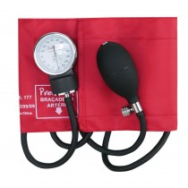 Esfigmomanômetro Aneroide - Vermelho