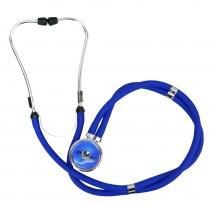 Estetoscópio Profissional Rappaport - Azul