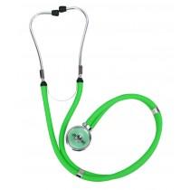 Estetoscópio Profissional Rappaport - Verde