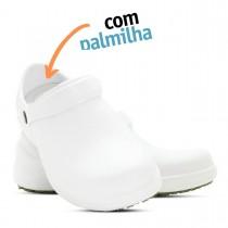 Babuche Profissional Soft Works Antiderrapante com Palmilha - Branco