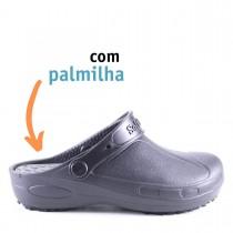 Babuche Profissional Plus com palmilha - Preto