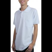 Polo Masculina - Branco