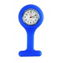 Relógio de Jaleco Silicone - Azul Royal