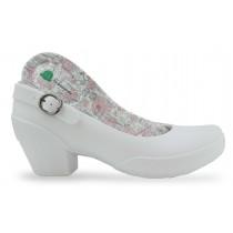 Sapato Boa Onda Galicia Ícones Coração - Branco