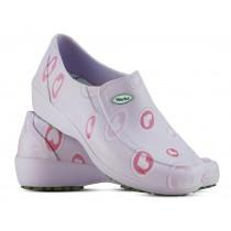 Sapato Lady Works - Corações Rosas - Lilas