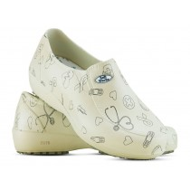 Sapato Lady Works - Área da Saúde - Bege