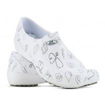 Sapato Lady Works - Área da Saúde - Branco