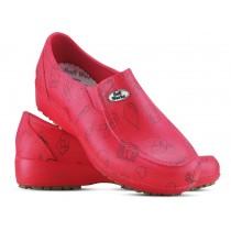 Sapato Lady Works - Área da Saúde - Vermelho