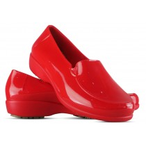 Sticky Shoe Social Woman Verniz - Vermelho