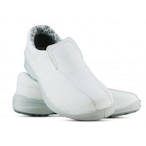 Sapato Viposa Microfibra Com Elástico - Branco