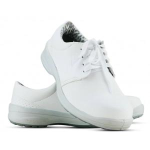 Sapato Viposa Com Cadarço Microfibra - Branco