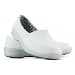 Sapato Viposa Microfibra Elástico - Branco