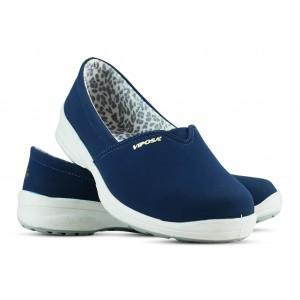 Sapato Viposa Microfibra Elástico - Azul