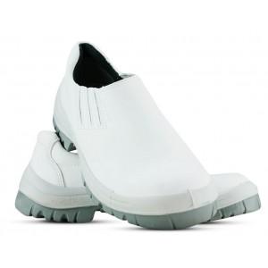 Sapato Viposa Com Elástico Com Biqueira Plástica - Branca