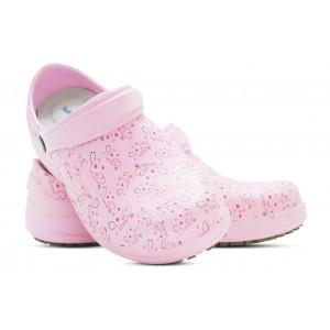 Babuche Profissional Soft Works Estampado Com Palmilha - Esteto Love - Rosa