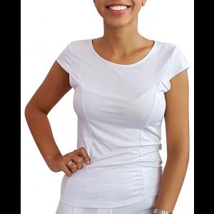 Blusinha CANAL1 com recortes - Branca