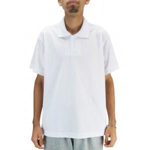 Camiseta Polo Unissex - Branco