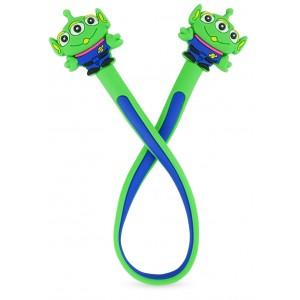 Enfeite para Estetoscópio Monstro Personagem - Verde/Azul