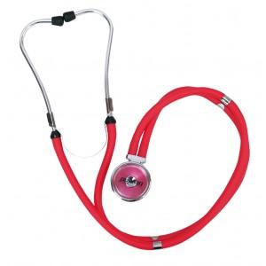 Estetoscópio Profissional Rappaport - Vermelho