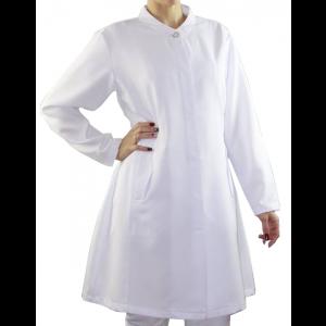 Jaleco Feminino Namastê Gabardine Premium - Branco