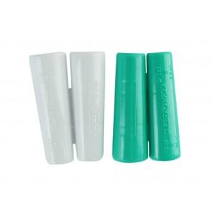 Kit com 02 unidades: Apoio seguro para abrir ampolas de 1 ml a 20 ml - Verde/Branco
