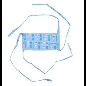 Máscara Profissional Reutilizável Dental - Azul