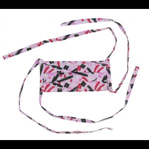Máscara Profissional Reutilizável Batom - Pink