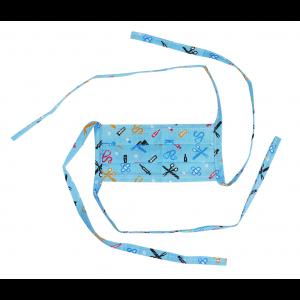 Máscara Profissional Reutilizável Hospital - Azul