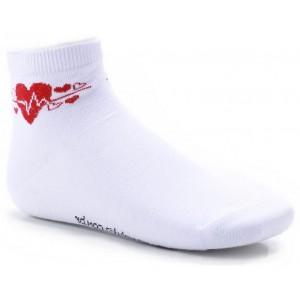 Meia Light Socks - Corações Vermelhos