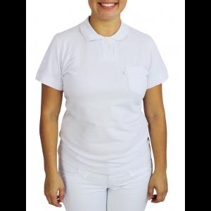 Polo Feminina - Branco