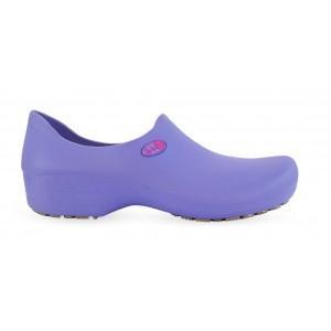 Sapato Antiderrapante Sticky Shoe Florence - Eletro Heart - Lilás/Pink