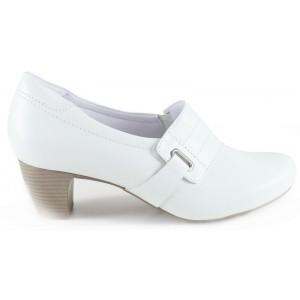Sapato Neftali Salto Alto 4784-N - Branco