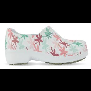 Sapato Profissional Soft Works II Estampado - Folhagem Colorida