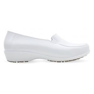 Sticky Shoe Social Woman Verniz - Branco