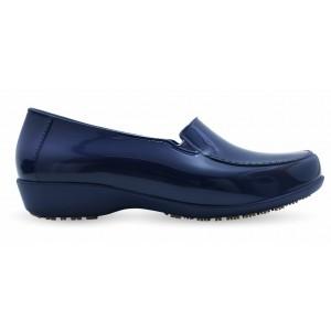 Sticky Shoe Social Woman Verniz - Marinho