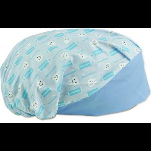 Touca Elástica Profissional Dental - Azul